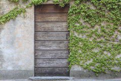 Vieille porte photo stock