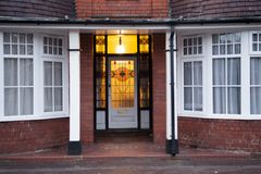 Vieille porte au Royaume-Uni Wolverhampton photos libres de droits