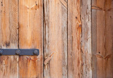 Vieille porte avec la vieille texture en bois Photo stock