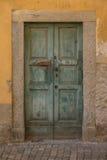 Vieille porte dans Tirano en Italie Photo libre de droits
