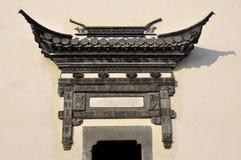 Vieille porte de mur Image stock