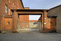 Vieille porte de prison Photographie stock