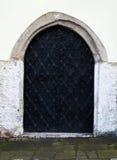 Vieille porte de synagouge Cracovie Photos stock