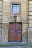 Vieille porte de théâtre, Oxford, Angleterre Image stock