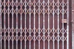 Vieille porte de volet Photographie stock libre de droits