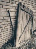 Vieille porte du YE Photographie stock libre de droits