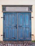 Vieille porte en bois Photographie stock libre de droits