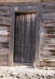 Vieille porte en bois de siècle dernier photographie stock