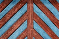Vieille porte en bois en Bavière du nord-est Image libre de droits