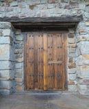 Vieille porte, Espagne Images libres de droits