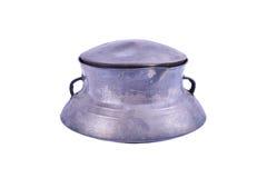 Vieille poterie de fer Photo libre de droits