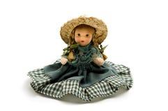 Vieille poupée de porcelaine Photographie stock libre de droits