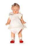 Vieille poupée maltraitée d'enfant Photos stock