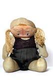 Vieille poupée triste de tissu Photo libre de droits