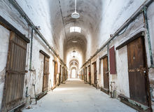 Vieille prison grunge Photographie stock