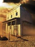 Vieille prison occidentale photo stock