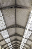 Vieille protection de toit Photos stock