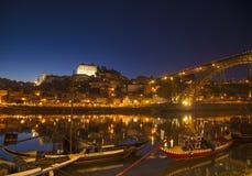 Vieille région de rivière de ville de Porto Portugal Photo libre de droits