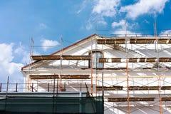 Vieille rénovation de maison photos stock