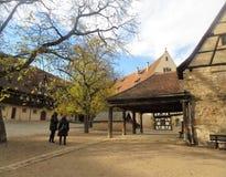 Vieille résidence à Bamberg photos libres de droits