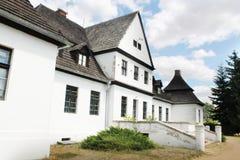 Vieille résidence polonaise - manoir images libres de droits