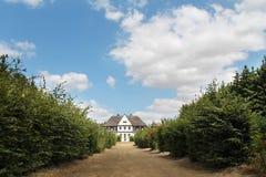 Vieille résidence polonaise - manoir photographie stock
