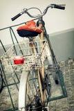Vieille rétro bicyclette Photographie stock