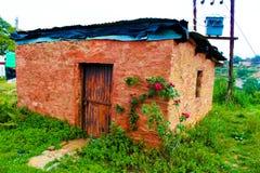 Vieille rétro hutte Images libres de droits