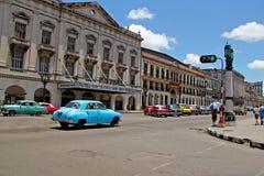 Vieille rétro voiture à La Havane, Cuba Photos libres de droits