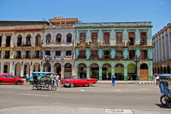 Vieille rétro voiture à La Havane, Cuba Images stock
