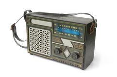 Vieille radio Image stock
