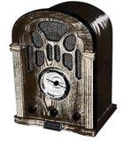 Vieille radio Image libre de droits