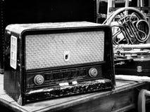 Vieille radio Image stock