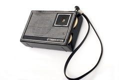 Vieille radio de poche de mode Images libres de droits