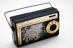 Vieille radio de transistor Photo libre de droits