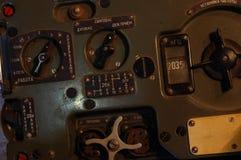 Vieille radio militaire soviétique Images stock