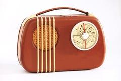 vieille radio portative Photo libre de droits