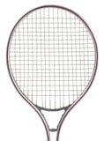 Vieille raquette de tennis en métal Photos stock