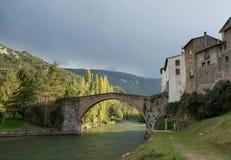 Vieille rivière en pierre images stock