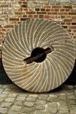 Vieille roue à émeri Photos libres de droits