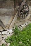 Vieille roue Photos stock