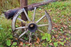 Vieille roue Images libres de droits