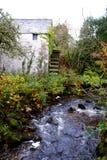 Vieille roue d'eau écossaise. Images stock