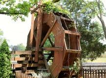 Vieille roue d'eau Image libre de droits
