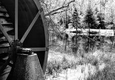 Vieille roue de moulin Image libre de droits