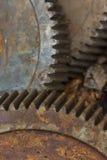 Vieille roue dentée rouillée Photos libres de droits