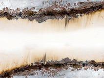 Vieille rouille de fer en métal Photos libres de droits