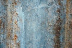 Vieille rouille de fer en métal Image libre de droits