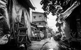 Vieille route photographie stock libre de droits