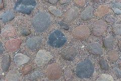 Vieille route de maçonnerie Photo libre de droits